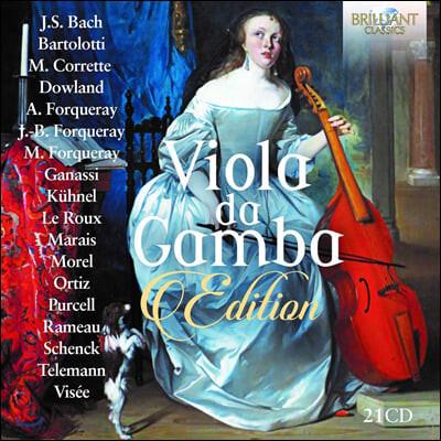 16-18세기 비올라 다 감바 컬렉션 (Viola da Gamba Edition)