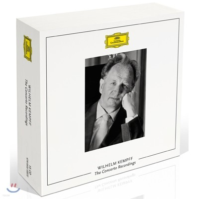 Wilhelm Kempff 빌헬름 켐프 DG 스튜디오 협주곡 녹음 전곡집 (The Concerto Recordings)