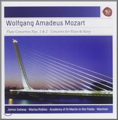 모차르트: 플룻과 하프를 위한 협주곡 - 제임스 골웨이