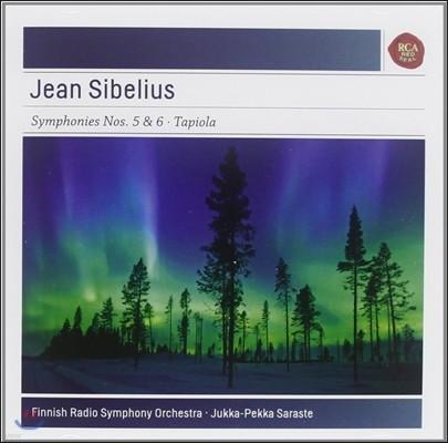 시벨리우스: 교향곡 5 & 6번 - 유카 페카 사라스테