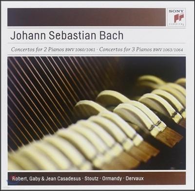 Robert & Gaby Casadesus 바흐 : 두대와 세대의 피아노를 위한 협주곡 (Bach : Concertos for 2 & 3 Pianos)