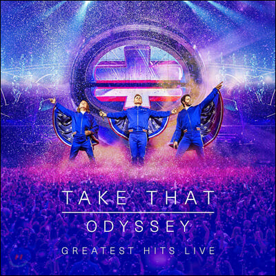 Take That (테이크 댓) - Odyssey: Greatest Hits Live [2CD+DVD+Blu-ray]