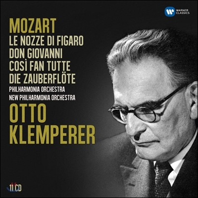 Otto Klemperer 모차르트: 오페라 - 피가로의 결혼, 돈 조반니, 코지 판 투테, 마술피리 (The Mozart Operas)