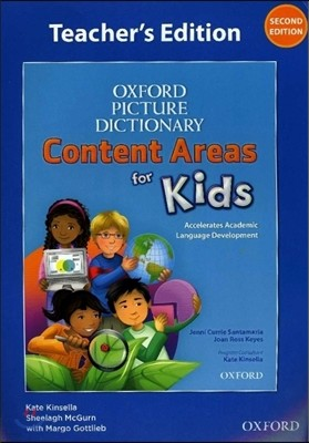 Oxford Picture Dictionary Content Areas for Kids Teacher's Book (Content Area) 2E