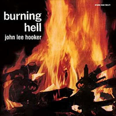 John Lee Hooker - Burning Hell (Remastered)(Mini LP Gatefold Replica)(8 Bonus Tracks)(CD)