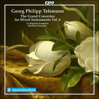 Michael Schneider 텔레만: 대합주 협주곡 6집 (Telemann: The Grand Concertos for Mixed Instruments Vol. 6)