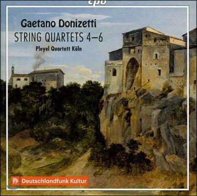 Pleyel Quartett Koln 도니제티: 현악 사중주 4-6번 (Donizetti: String Quartets Nos. 4-6)