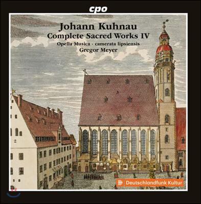 Camerata Lipsiensis 요한 쿠나우: 종교음악 작품 4집 (Johann Kuhnau: Complete Sacred Works Vol. 4)