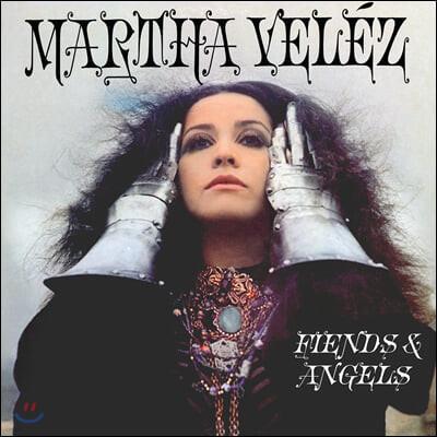 Martha Velez (마샤 벨레즈) - Fiends & Angels [퍼플 컬러 LP]