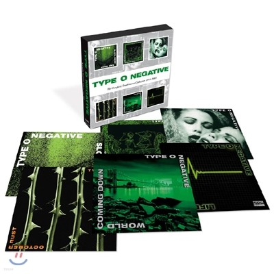 Type O Negative  - The Complete Roadrunner Collection 1991~2003 (Deluxe Edition)