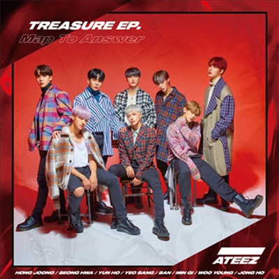 에이티즈 (Ateez) - Treasure EP. Map To Answer (Type Z)(CD)