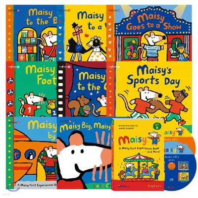 [세이펜] 메이지 영어그림책 8종 세트B : A Maisy First Experiences Book and More! (Book+CD)