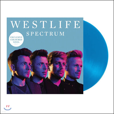 Westlife (웨스트라이프) - 11집 Spectrum [투명 블루 컬러 LP]