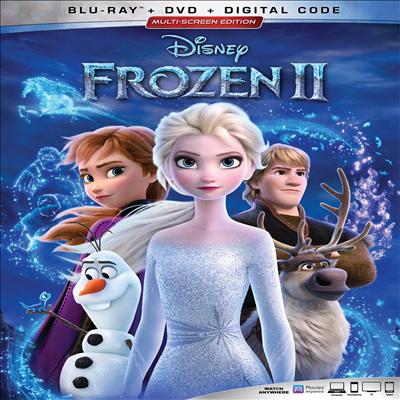Frozen 2 (겨울왕국 2) (Blu-ray+DVD)(한글무자막)