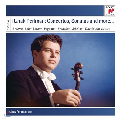 Itzhak Perlman 이작 펄만이 연주하는 바이올린 협주곡과 소나타 (Concertos, Sonatas and more..)