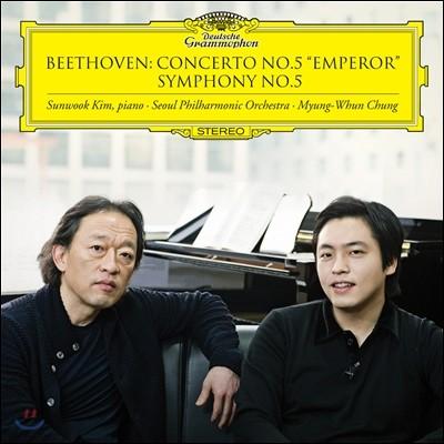 김선욱 / 정명훈 / 서울시향 - 베토벤: 피아노 협주곡 5번 '황제', 교향곡 5번 (Beethoven: Piano Concerto No.5 'Emperor', Symphony No.5)