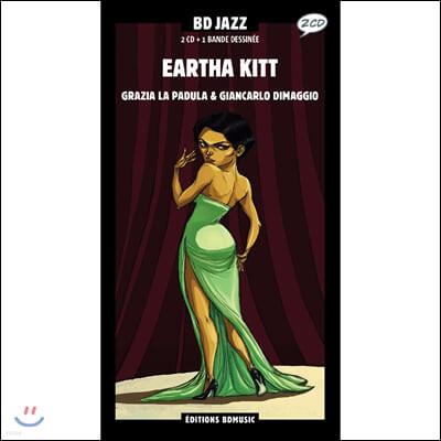 Eartha Kitt (Illustrated by Grazia La Padula)