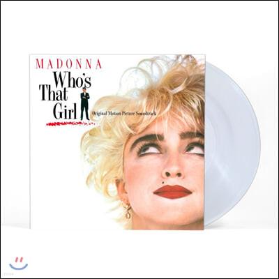 마돈나의 화려한 유혹 영화음악 (Who's That Girl OST by Madonna) [투명 컬러 LP]