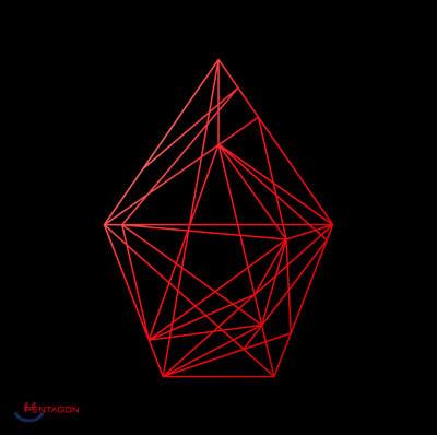 펜타곤 (Pentagon) 1집 - Universe : The Black Hall [Upside ver.]