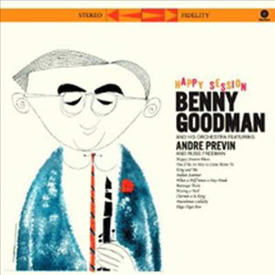 Benny Goodman Quintet & Orchestra - Happy Session (180g Audiophile Vinyl LP)
