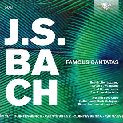 Pieter Jan Leusink 바흐: 칸타타 19곡 모음집 (Bach: Famous Cantatas)