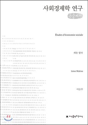 사회경제학 연구 큰글씨책