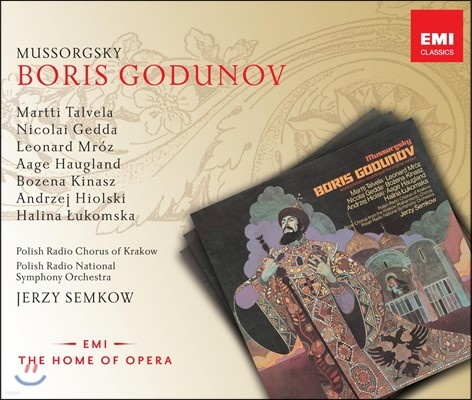 무소르크스키 : 보리스 고두노프 - 예르지 셈코프