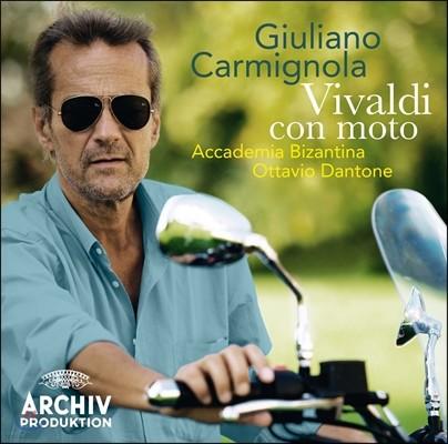Giuliano Carmignola 비발디 : 바이올린 협주곡집 (Vivaldi Con Moto : RV281, RV187, RV232. RV283. RV254, RV243)