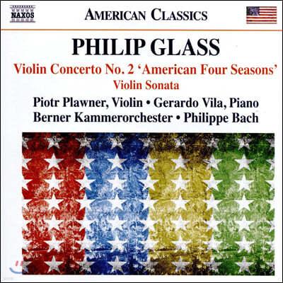 Piotr Plawner 필립 글래스: 바이올린 협주곡 2번 '미국의 사계', 바이올린 소나타