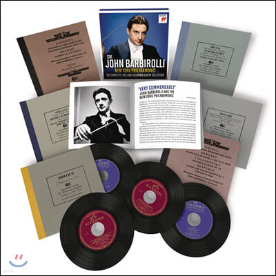 존 바비롤리 콜롬비아 & RCA 녹음 전집 (John Barbirolli - The Complete RCA and Columbia Album Collection)