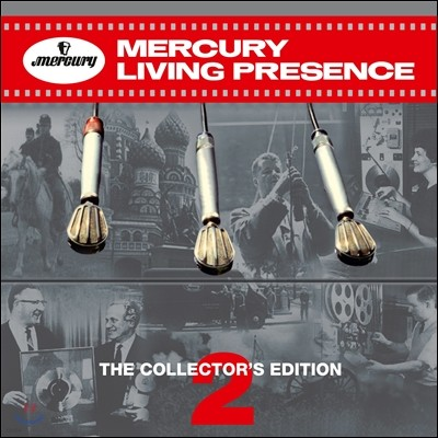 머큐리 리빙 프레즌스 2집 (Mercury Living Presence Vol. 2 - The Collector's Edition 55CD 한정반)