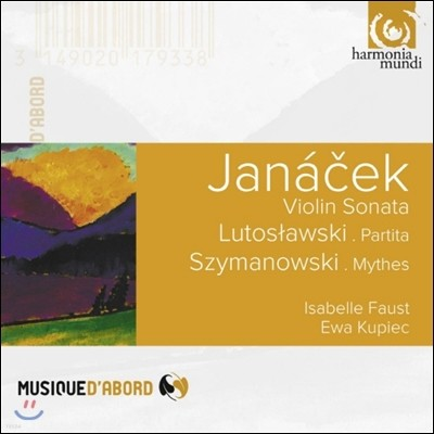 Isabelle Faust 야나첵: 바이올린과 피아노를 위한 소나타 / 루토슬라브스키: 비토