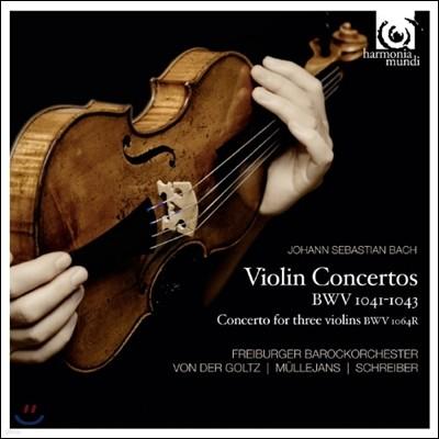 Gottfried von der Goltz 바흐: 바이올린 협주곡 - 고트프리트 폰 데어 골츠