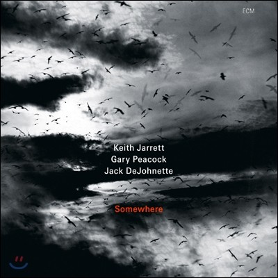 Keith Jarrett Trio - Somewhere + 공연 기념티셔츠 (M Size)