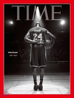 Time (주간) - Asia Ed. 2020년 02월 10일 : Kobe Bryant 타임지 아시아판 코비 브라이언트 커버
