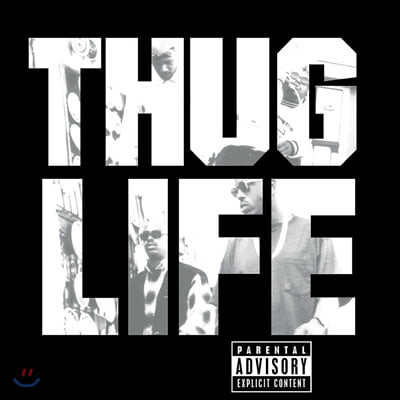 Thug Life (떠그 라이프) - 1집 Volume 1 (Featuring 2Pac) [LP]