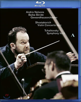 Andris Nelsons 쇼스타코비치: 바이올린 협주곡 1번 / 차이코프키: 교향곡 5번 (Shostakovich: Violin Concerto No. 1 / Tchaikovsky: Symphony No. 5)