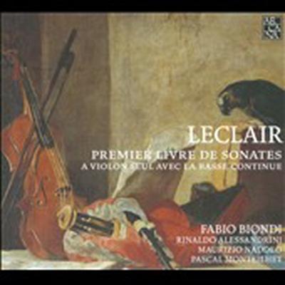 르클레르 : 바이올린 소나타 1권 - 소나타 3, 7, 8, 11번 (Leclair : Premier Livre de Sonates)(CD) - Fabio Biondi