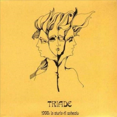 Triade - La Storia Di Sabazio (Orange LP)