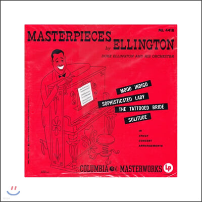 Duke Ellington (듀크 엘링턴) - Masterpieces By Ellington [LP]