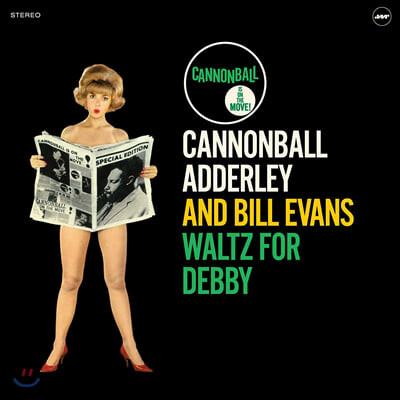 Cannonball Adderley / Bill Evans (캐논볼 애덜리 / 빌 에반스) - Waltz for Debby [LP]