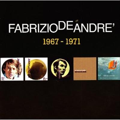 Fabrizio De Andre - Album Originali 1967-1971 (5CD Box-Set)