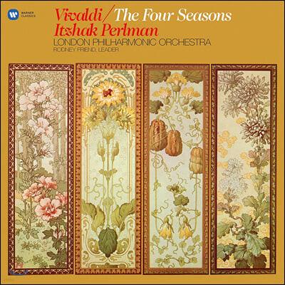 Itzhak Perlman 비발디: 바이올린 협주곡 '사계' 전곡 (Vivaldi: The Four Seasons) [LP]