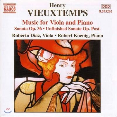 Roberto Diaz 비외탕: 비올라와 피아노를 위한 음악 (Vieuxtemps: Music For Viola & Piano)