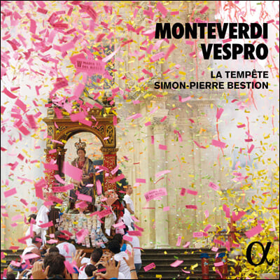 Simon-Pierre Bestion 몬테베르디: 성모 마리아의 저녁기도 (Monteverdi: Vespro)