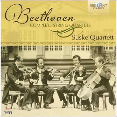 Suske Quartett 베토벤: 현악 사중주 전곡집 (Beethoven: Complete String Quartets) 주스케 사중주단