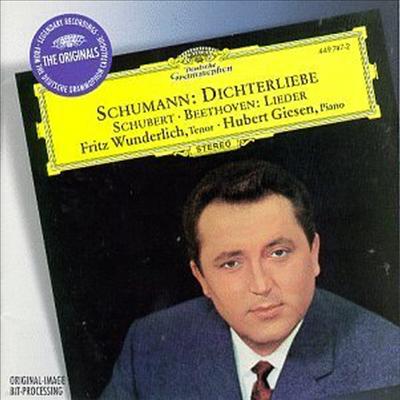 슈만, 슈베르트, 베토벤 : 시인의 사랑 작품 48, 가곡집(Schumann, Schubert, Beethoven : Dichterliebe Op.48, Lieder) - Fritz Wunderlich