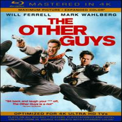 The Other Guys (디 아더 가이즈) (Mastered in 4K)(한글무자막)(Blu-ray + Ultra Violet Digital Copy) (2010)