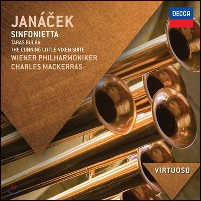Charles Mackerras 야나첵: 신포니에타, 타라스 불바 (Janacek: Sinfonietta, Taras Bulba)