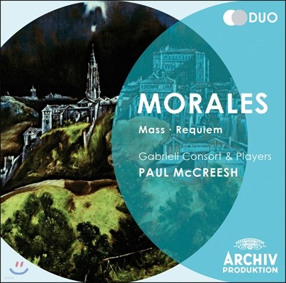 모랄레스: 미사, 레퀴엠 - 폴 멕크리쉬 / 가브리엘 콘소트